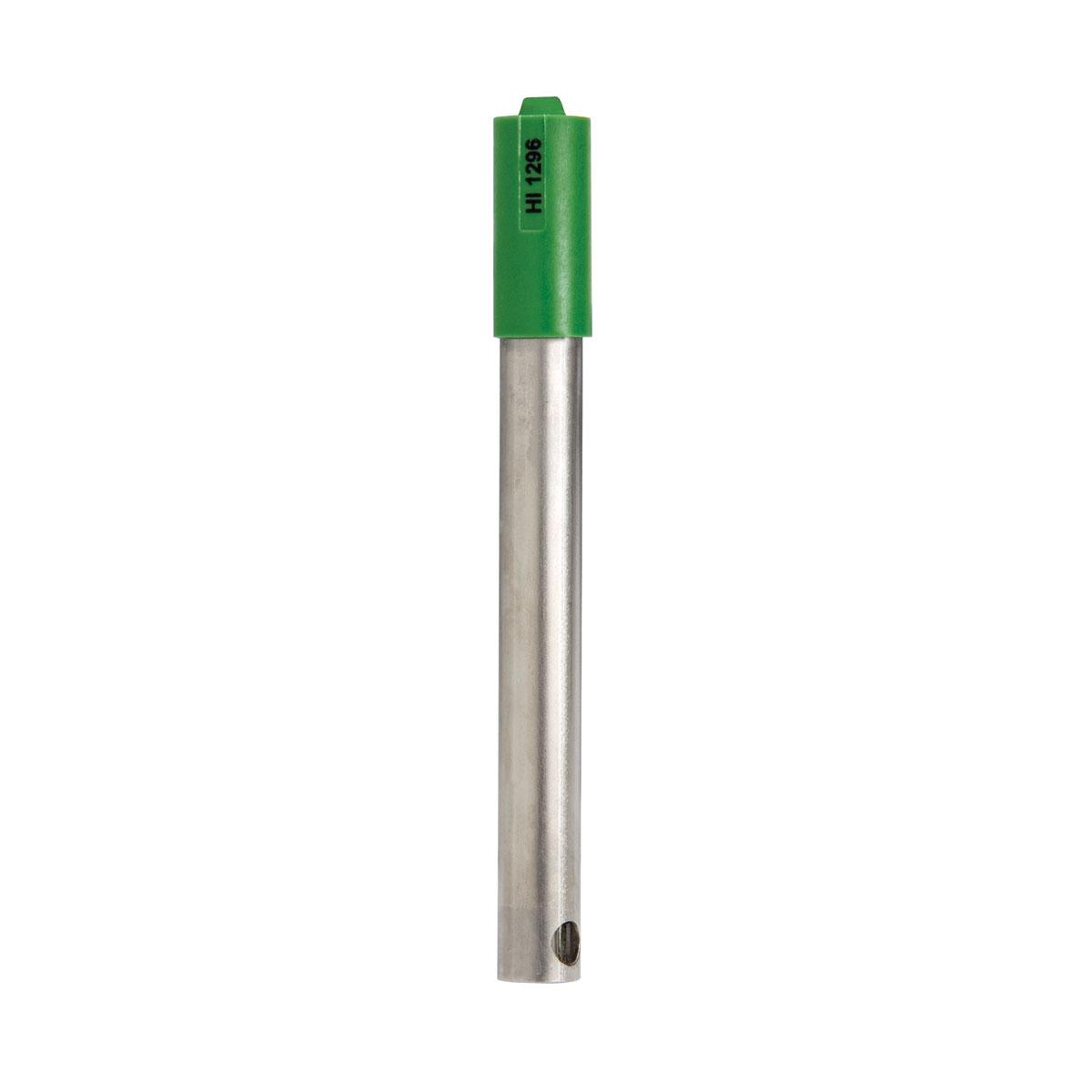 Electrodo de pH con Cuerpo de Titanio y Conector DIN para Agua Residual - HI1296D
