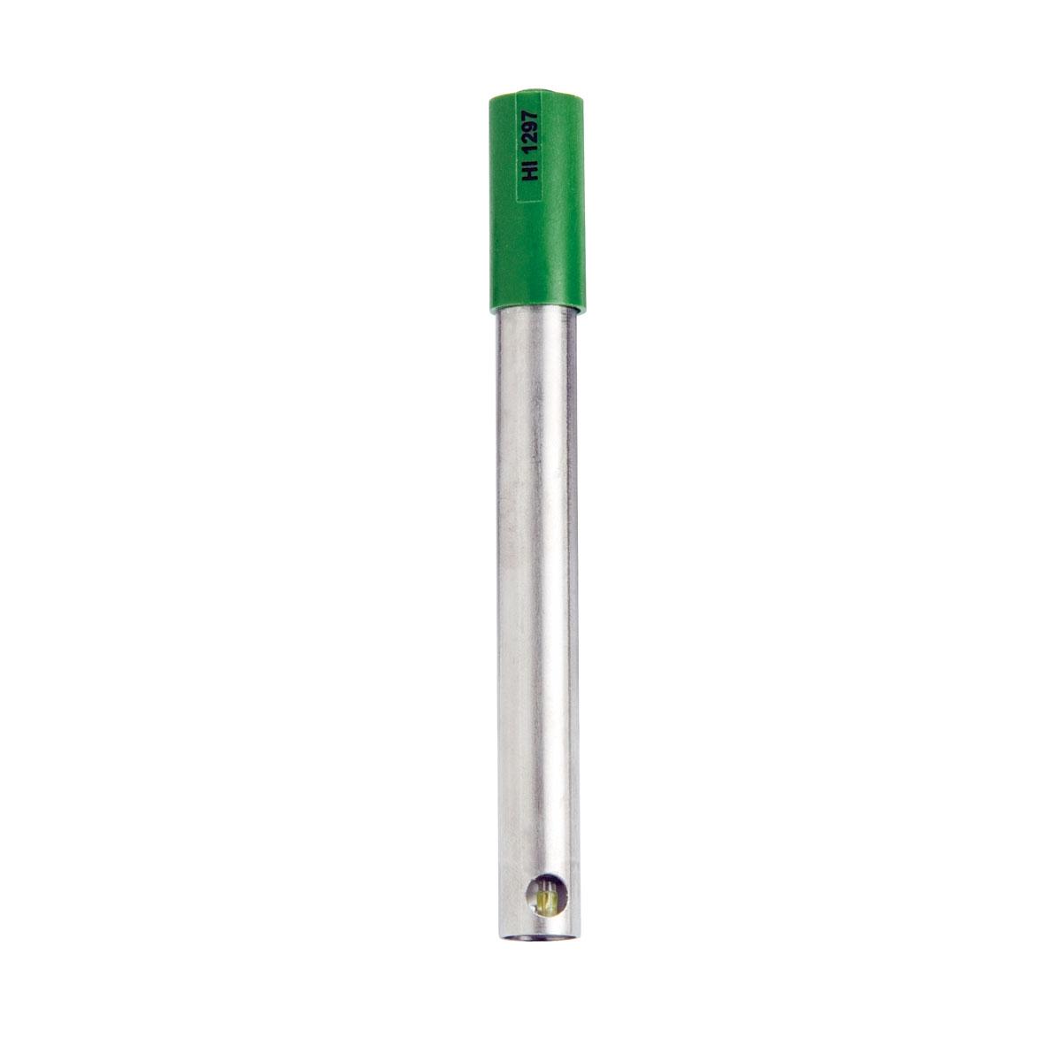Electrodo de pH/ORP con Cuerpo de Titanio y Conector DIN para Análisis de Tratamiento de Agua - HI1297D