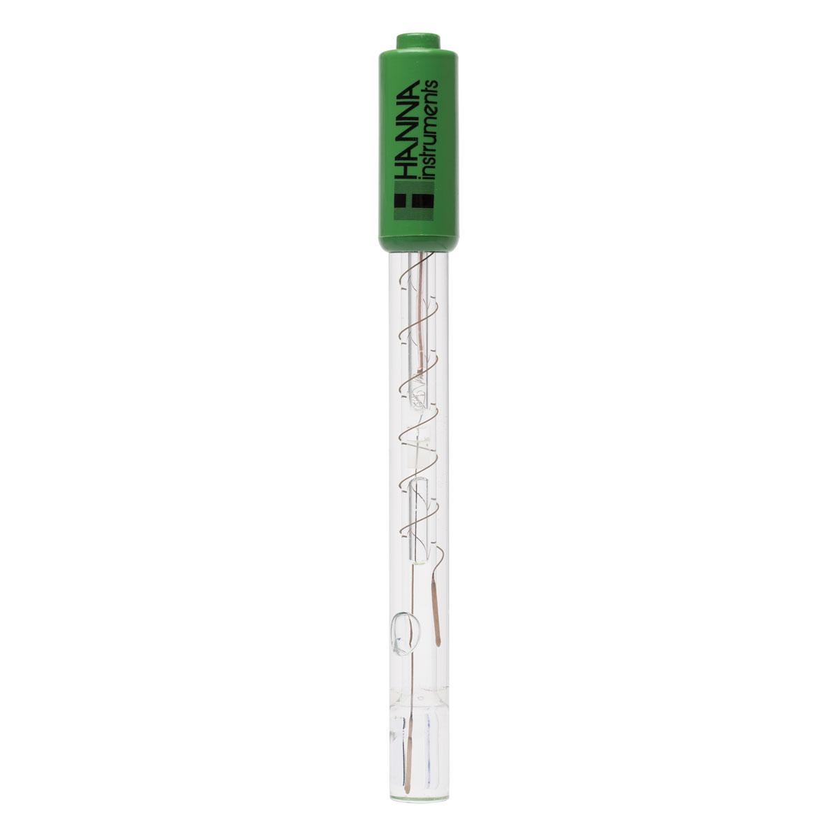 Electrodo de pH con Punta Plana para Piel y Diversas Superficies, con Conector BNC- HI1413B