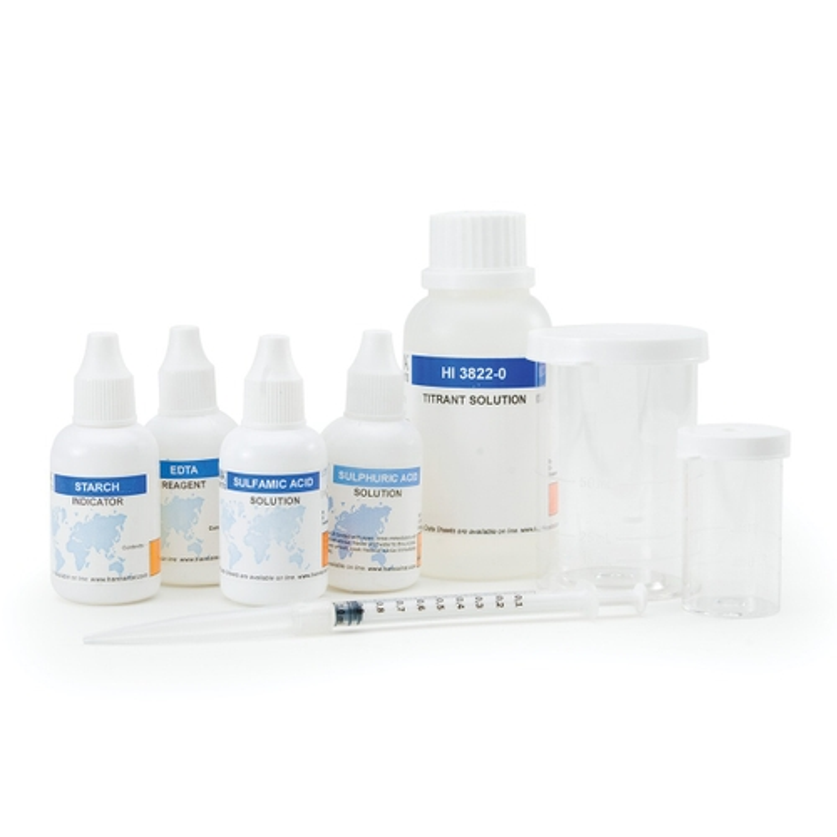 Kit Químico de Pruebas para Sulfito - HI3822