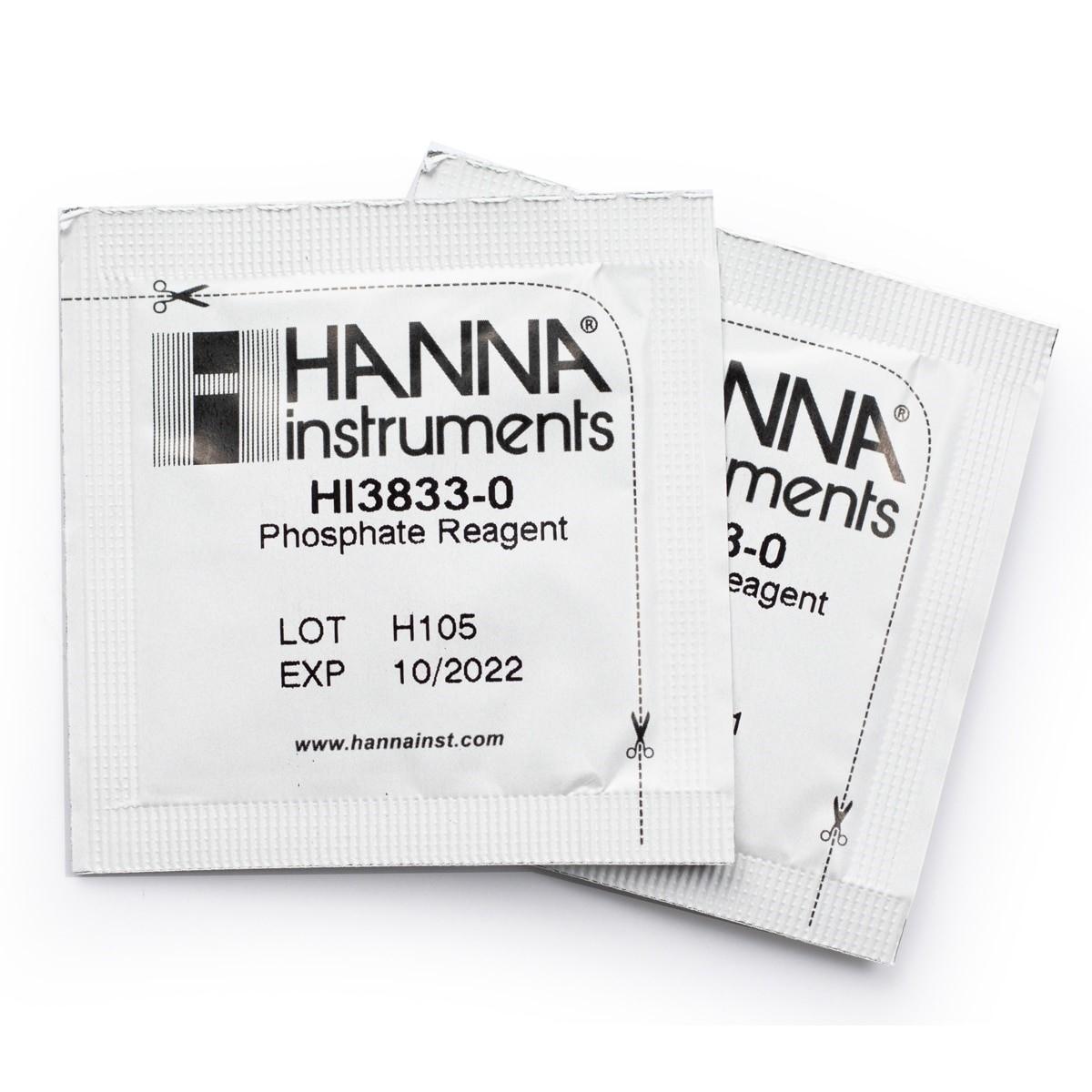 Reactivos de Reemplazo del Kit de Pruebas para Fosfato (50 Pruebas) - HI3833-050