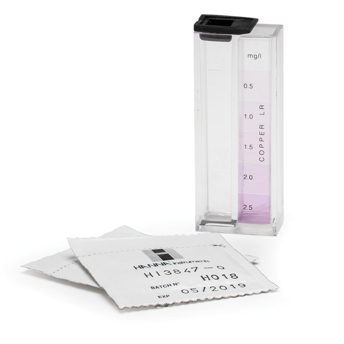 Kit Químico de Pruebas para Cobre - HI3847