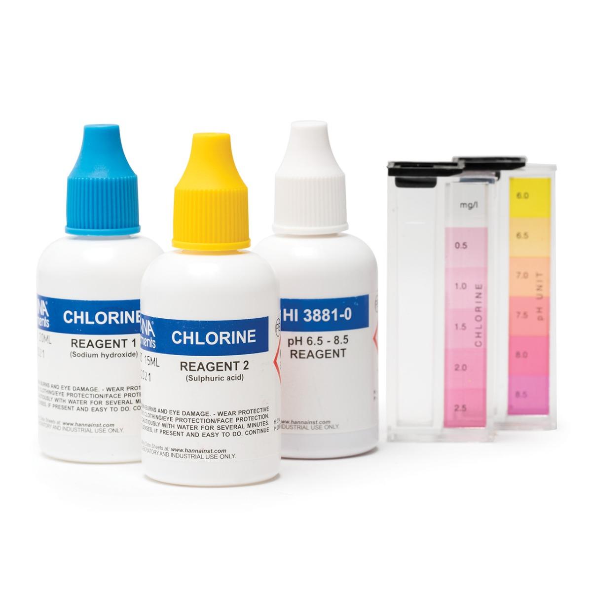 Kit de Pruebas Químicas para Piscina - HI3887