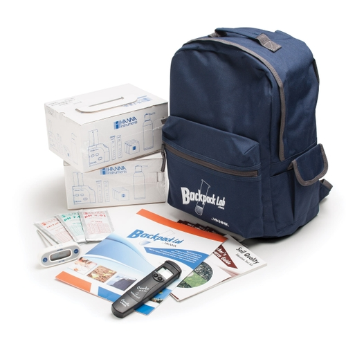 HI3896BP Backpack Lab Soil Quality Educational Test Kit