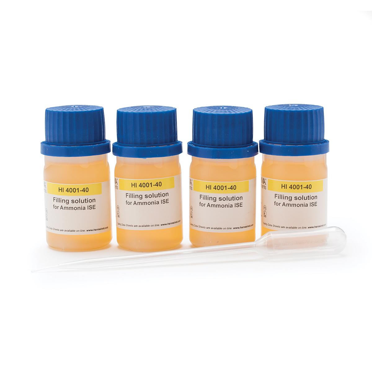Solución de Relleno para ISE de Amoniaco - HI4001-40