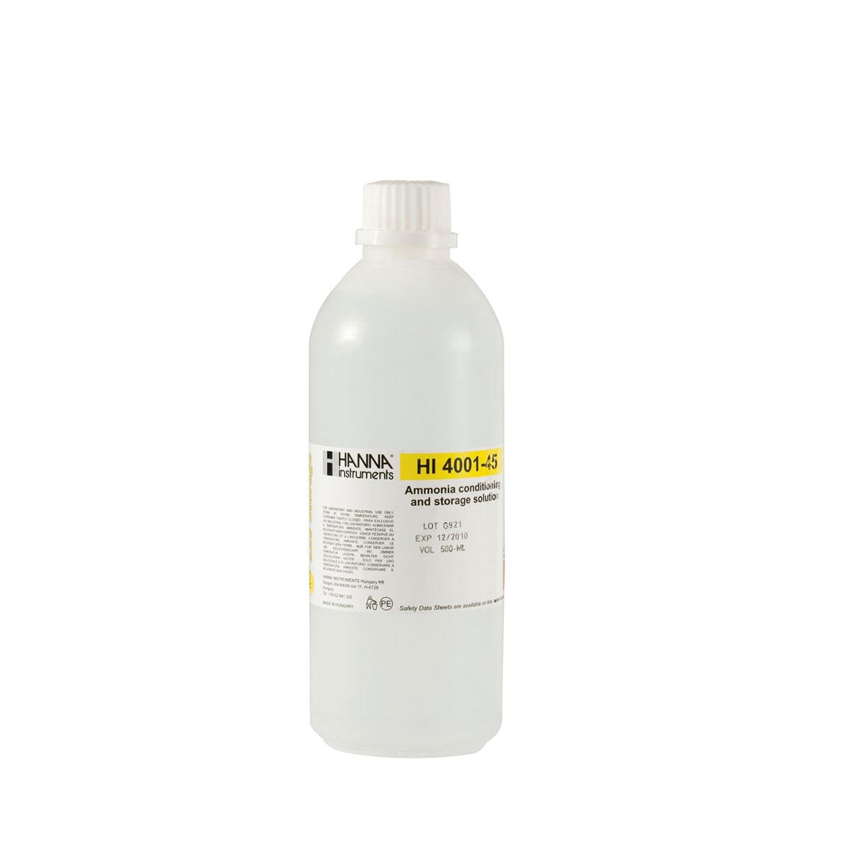 Solución de Acondicionamiento y Almacenamiento para ISE de Amoniaco - HI4001-45