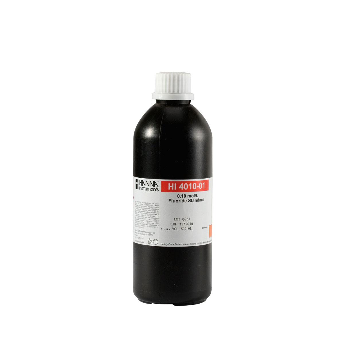 Solución Estándar de Fluoruro 0.1M para ISE (500mL) - HI4010-01
