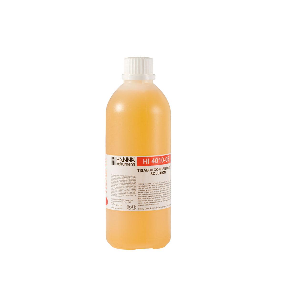 TISAB III Concentrado Para ISE's De Flúor - HI4010-06