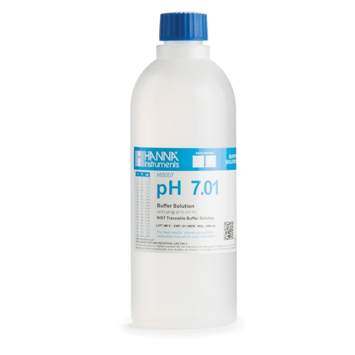 HI5007 pH 7.01 Technical Calibration Buffer (500 mL)
