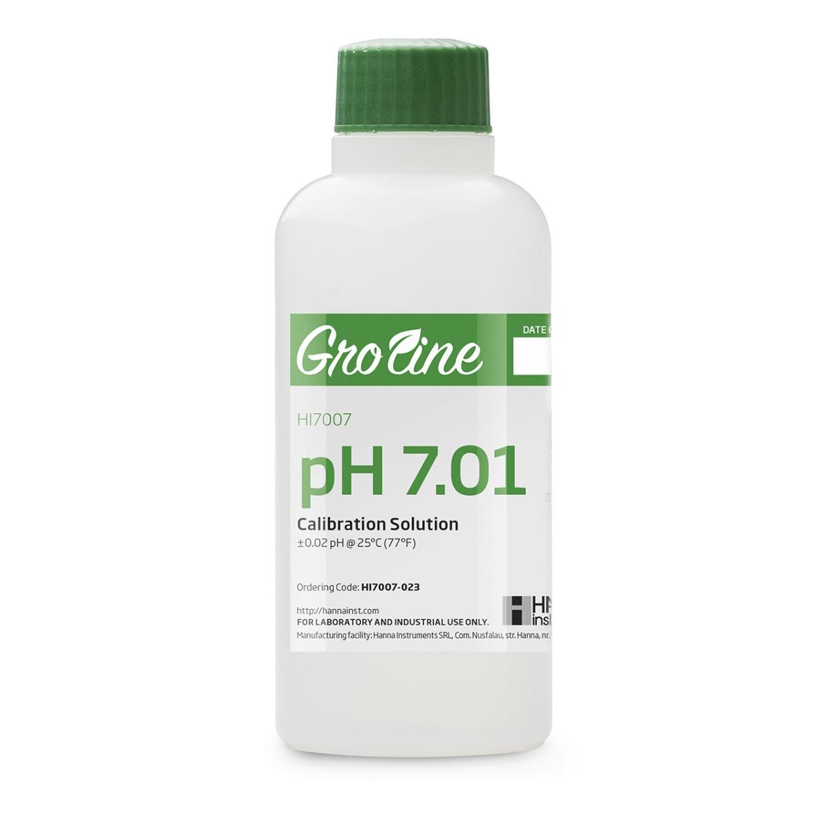 Solución de Calibración GroLine pH 7.01 (230 mL) - HI7007-023