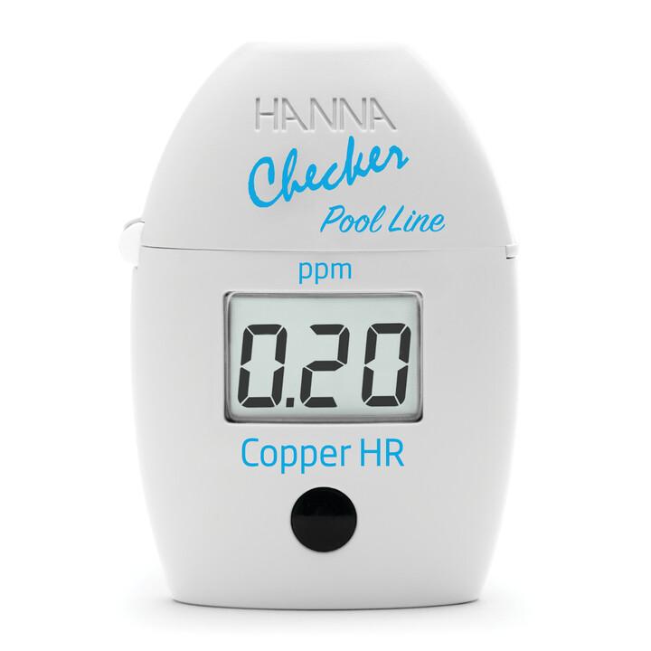 HI7024 Pool Line High Range Copper Checker® HC (handheld colorimeter)