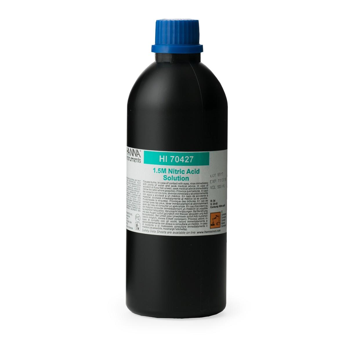 Solución de Ácido Nítrico 1.5 M, 500 mL - HI70427