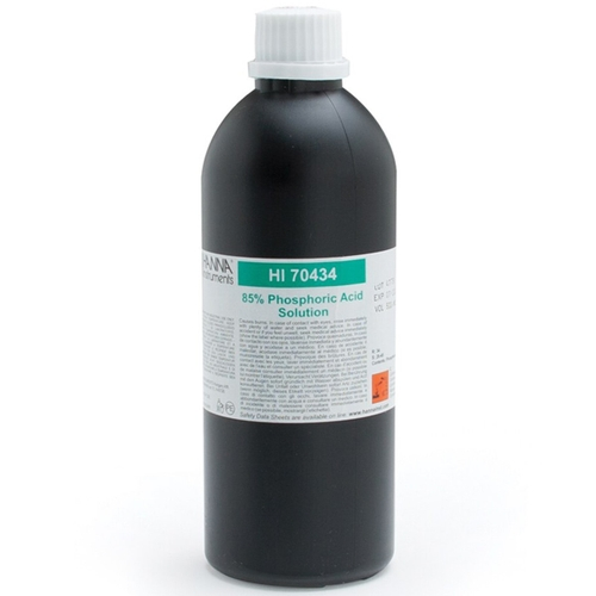 Sodium Hydroxide Solution 5M, 500 mL - HI70435