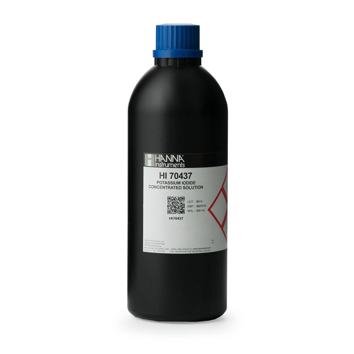 Reactivo de Yoduro de Potasio Concentrado al 30%, 500 mL - HI70437