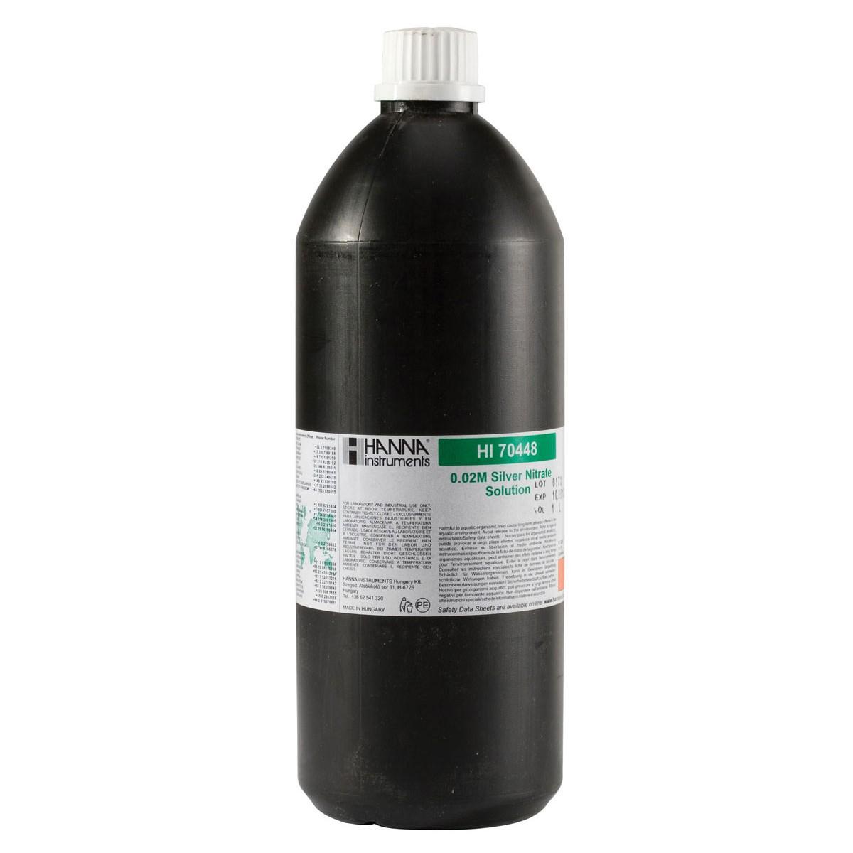 Silver Nitrate 0.02M, 1L - HI70448