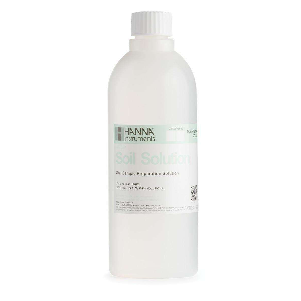 HI7051L Soil Sample Preparation Solution (500 mL)