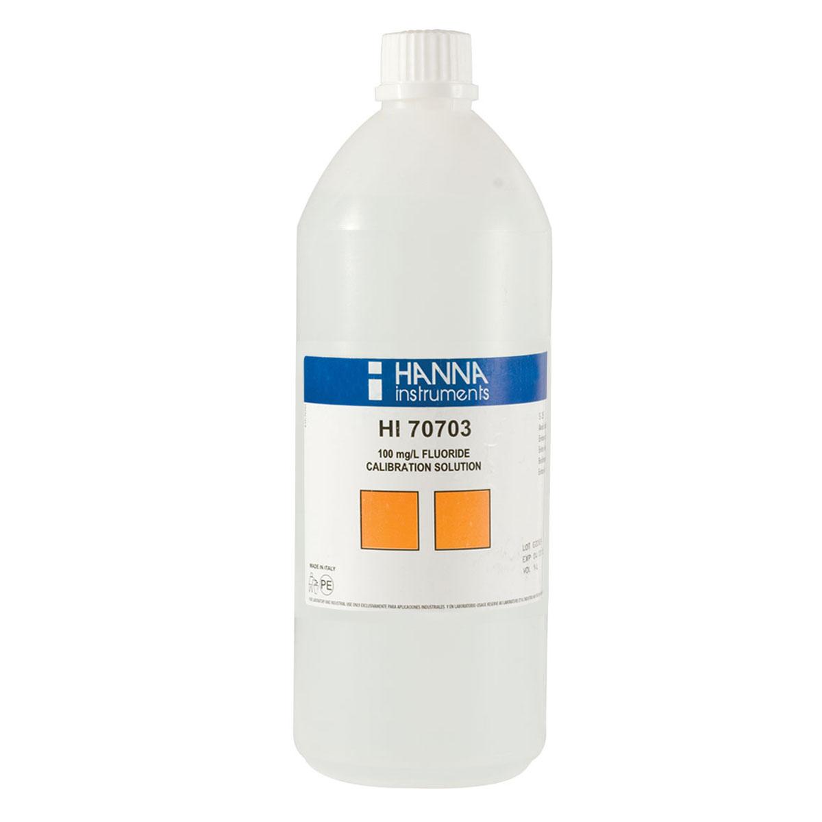 Solución Estándar de Fluoruro de 100 mg/L (1 L) - HI70703/1L