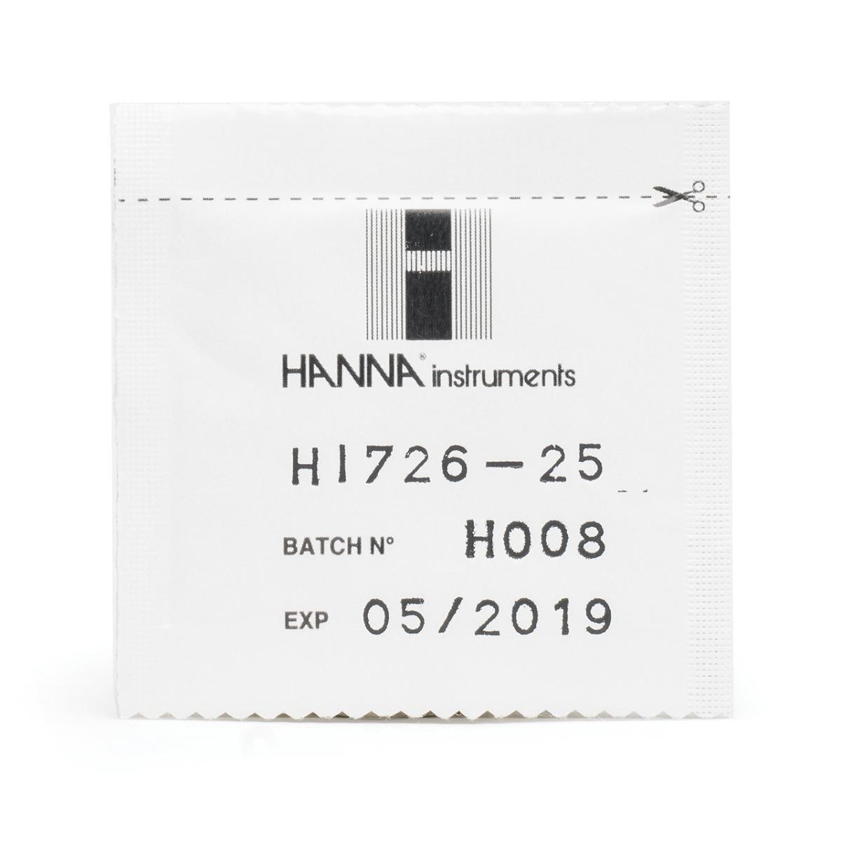 HI726-25 Nickel High Range Checker® HC Reagents (25 tests)