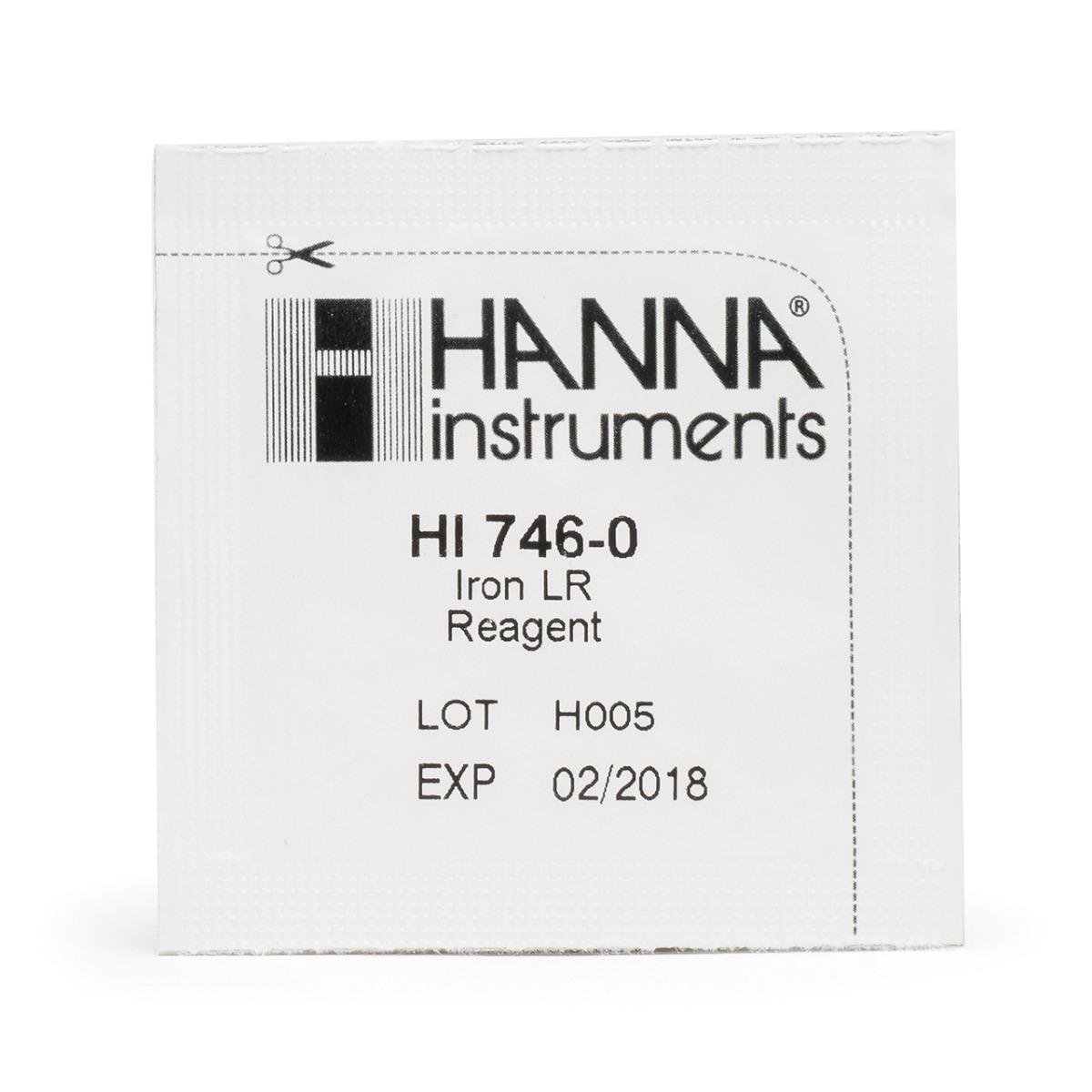 HI746-25 Iron Low Range Checker Reagents