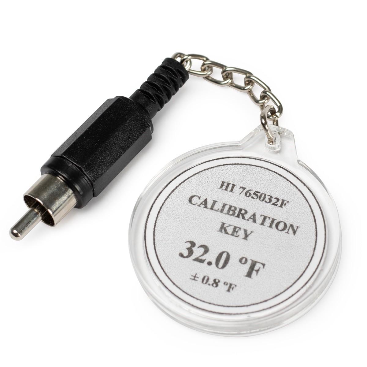 HI765032F Calibration Check Key at 32°F (HI765 Probes)
