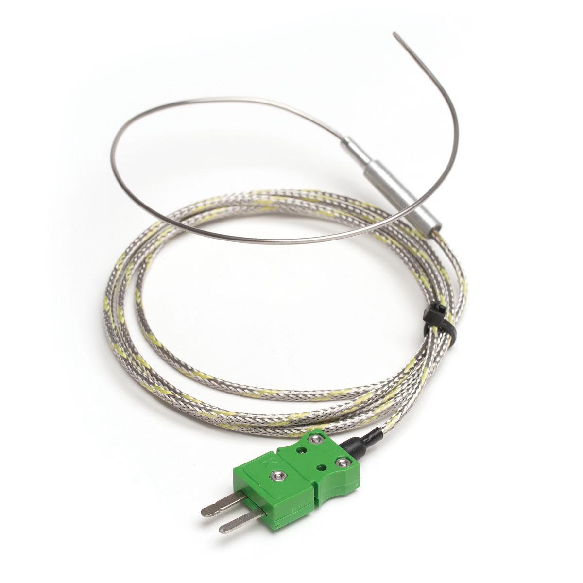 Sonda Termopar Tipo K Flexible para Altas Temperaturas - HI766F