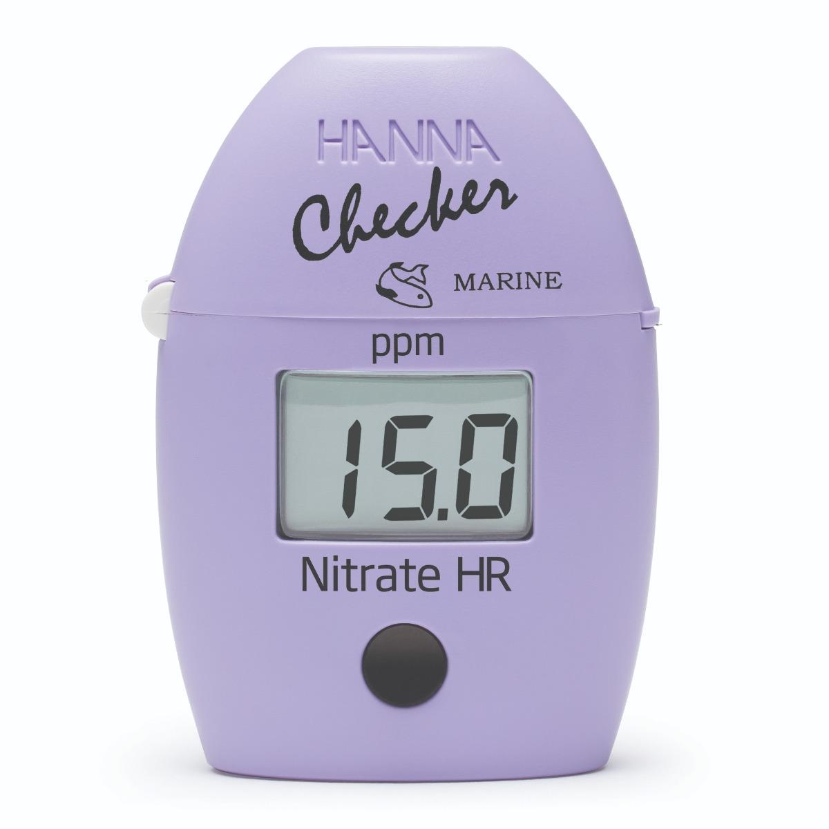 Checker de Nitrato Marino Rango Alto – HI782