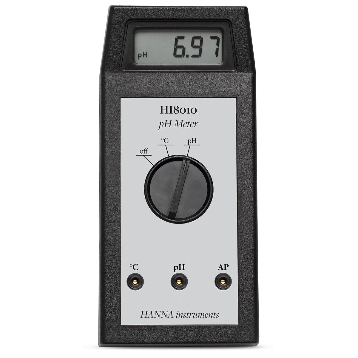 Medidor de pH Portátil - HI8010