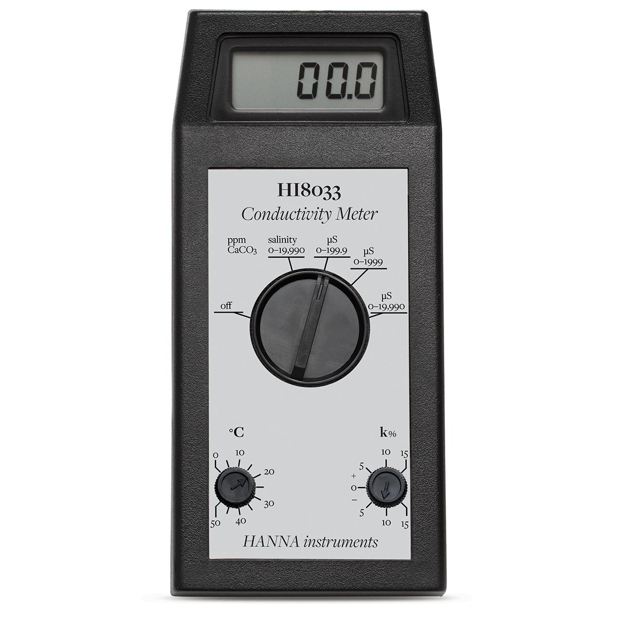 Medidor Portátil de CE / TDS de Rango Múltiple - HI8033