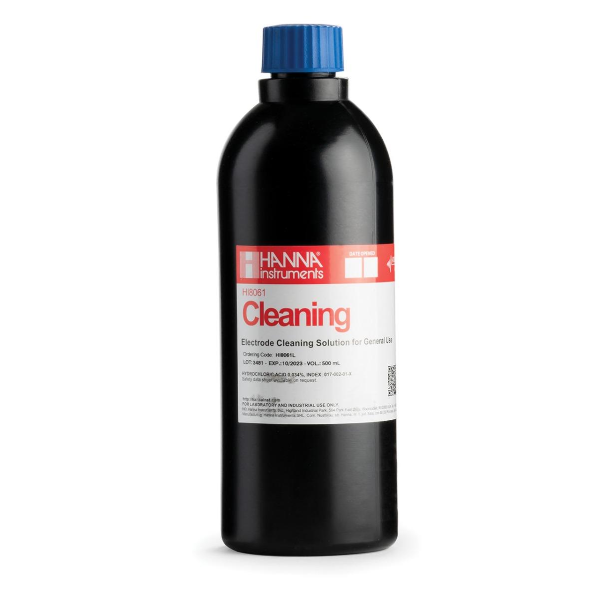 HI8061L General Purpose Cleaning Solution in FDA Bottle (500 mL)