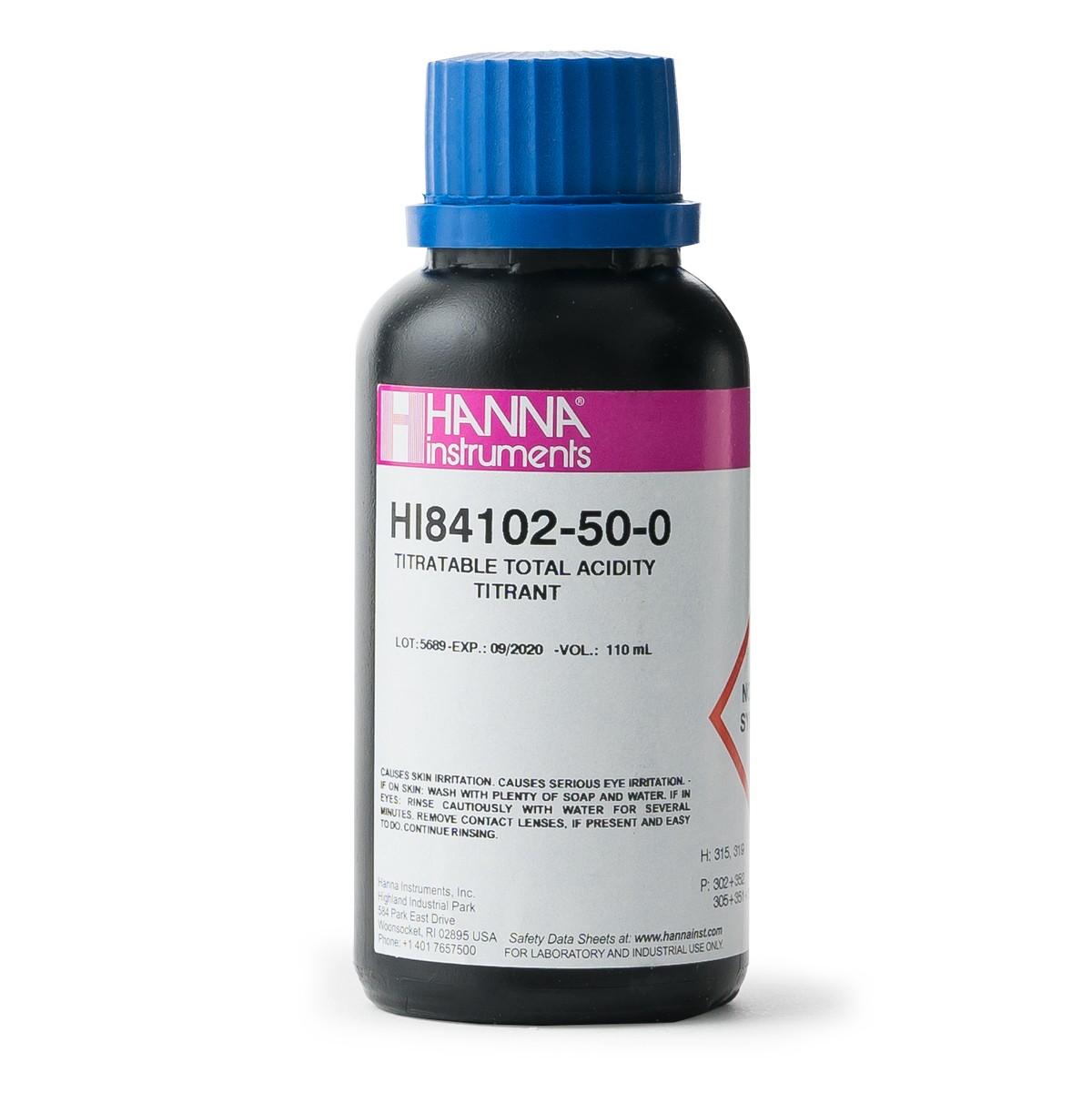 Titulante para Acidez Titulable en Mini Titulador de Vino - HI84102-50
