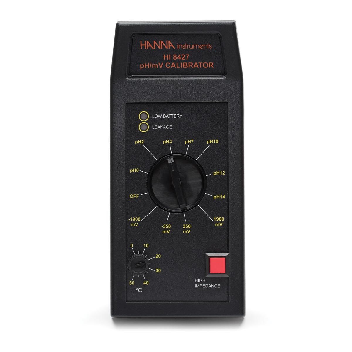 Medidor Analógico de pH / mV / °C con Electrodo HI1217D - HI8314