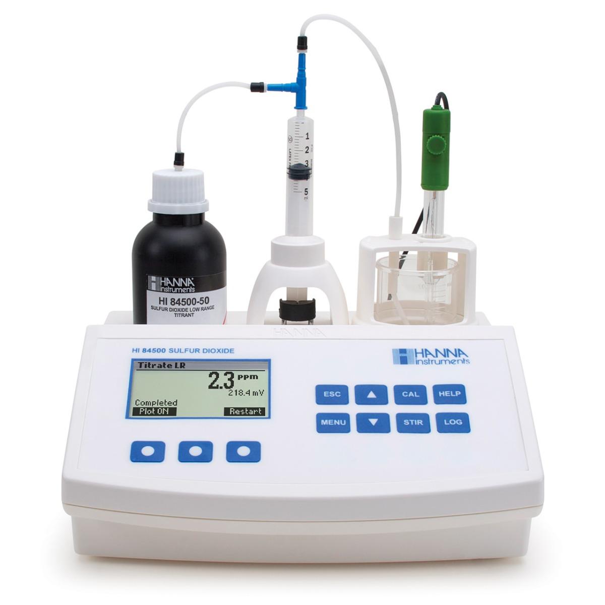 Mini Titulador de Dióxido de Azufre en el Vino - HI84500