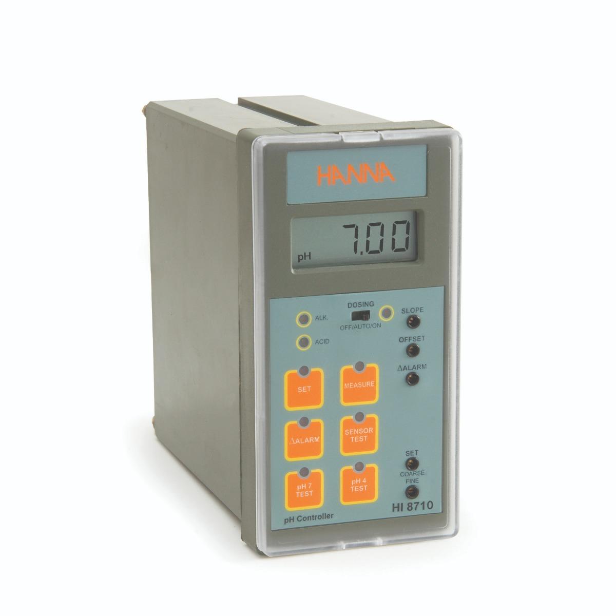 Controlador Analógico de pH con Prueba de Auto Diagnóstico - HI8710
