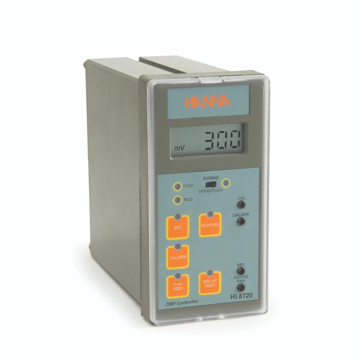 Controlador Analógico de ORP con Prueba de Autodiagnóstico - HI8720
