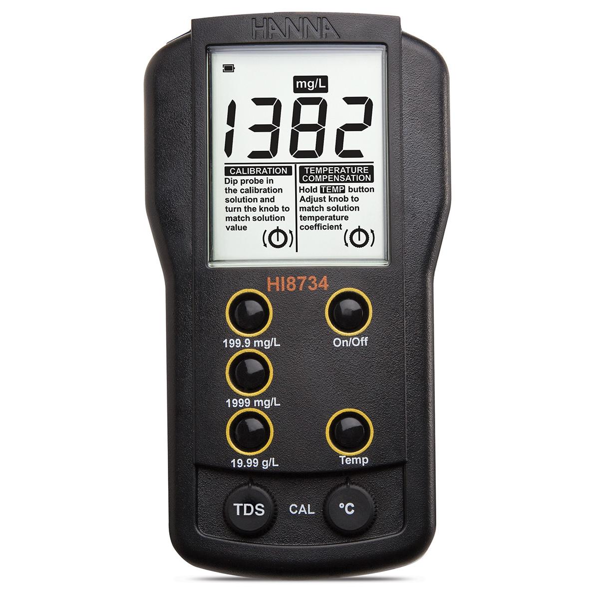 Conductometru portabil multidomeniu- HI8633