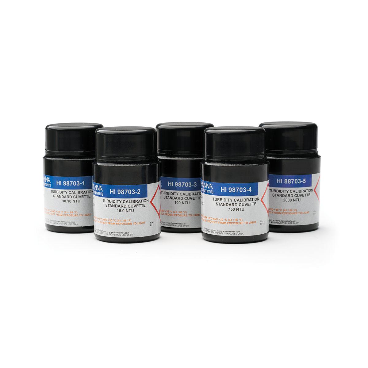 Estándares para Calibración de Turbidez - HI88703-11