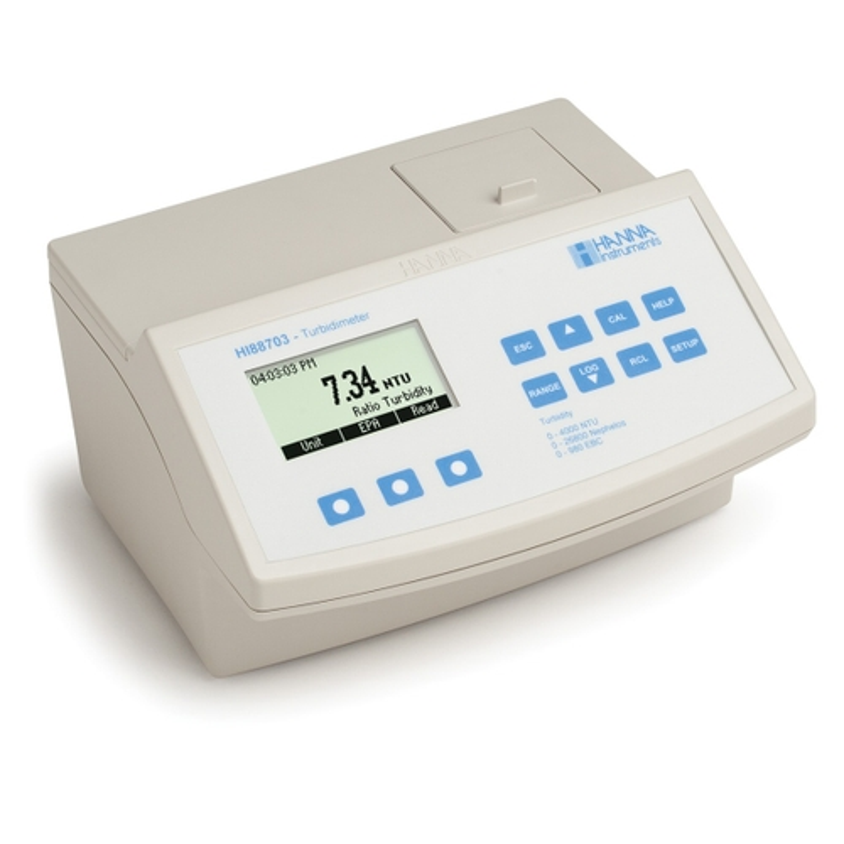 Medidor de Sobremesa para Turbidez en Acuerdo con EPA - HI88703