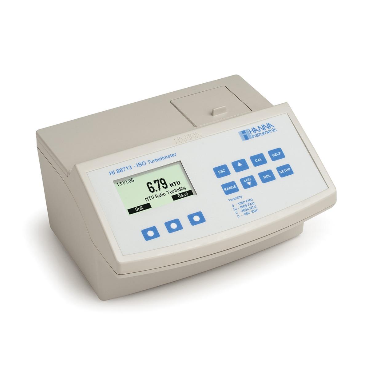 Medidor de Sobremesa para Turbidez Compatible con ISO 7027 - HI88713