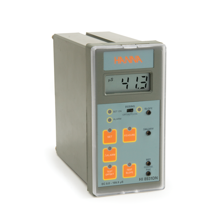 Controlador Analógico de CE con Entrada de Sonda o Transmisor - HI8931