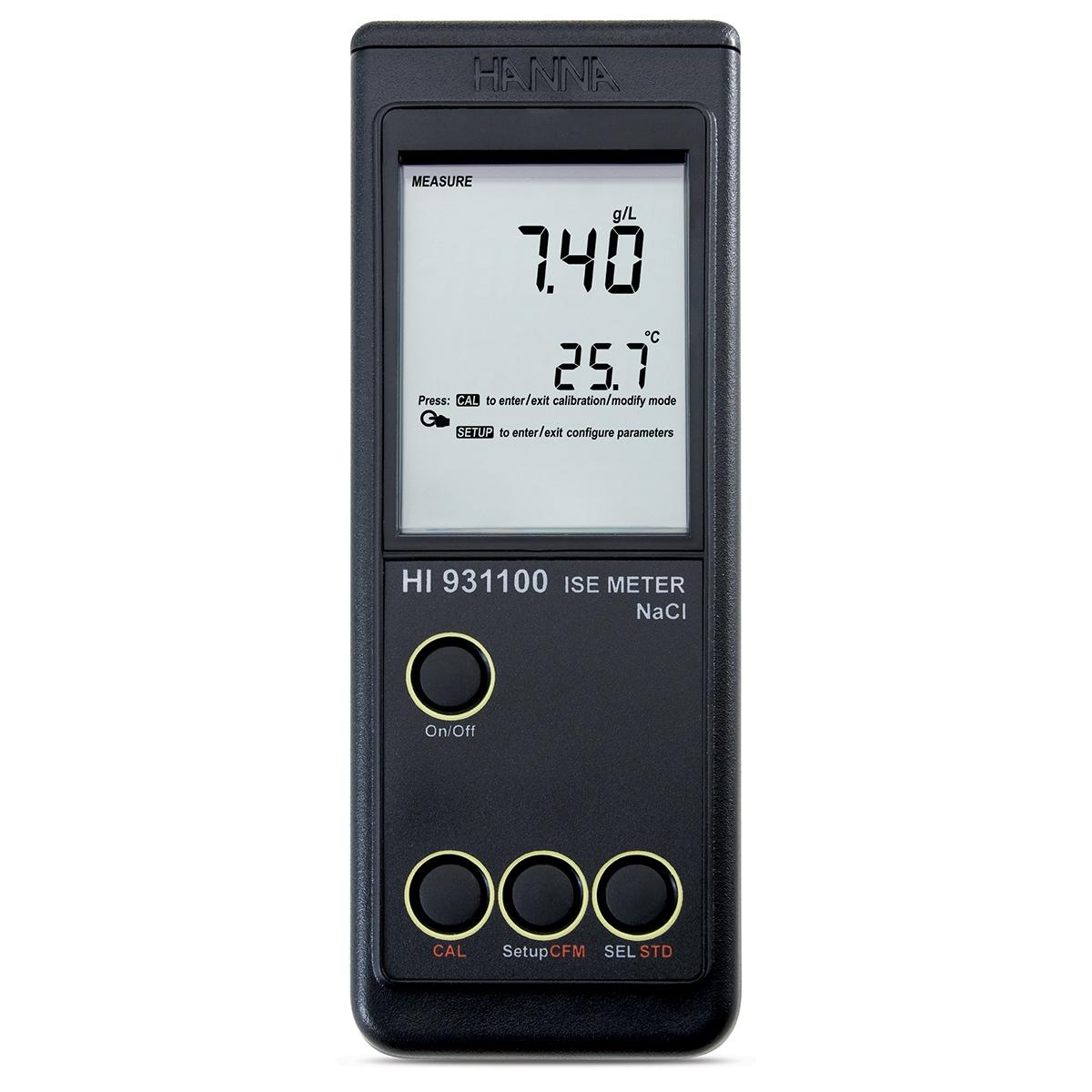 Medidor Portátil de Salinidad y Sodio - HI931100