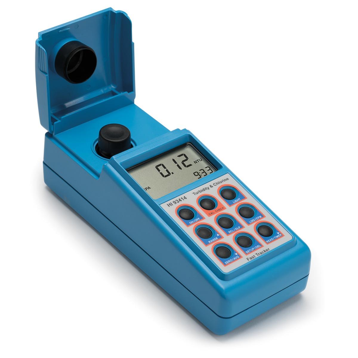 Medidor Portátil para Cloro y Turbidez (EPA) - HI93414-02