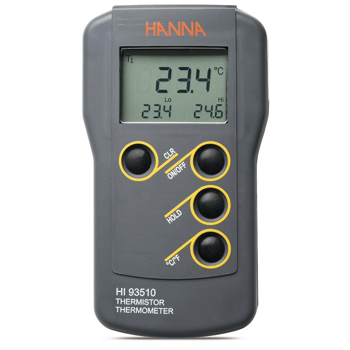 Termómetro Termistor Impermeable - HI93510
