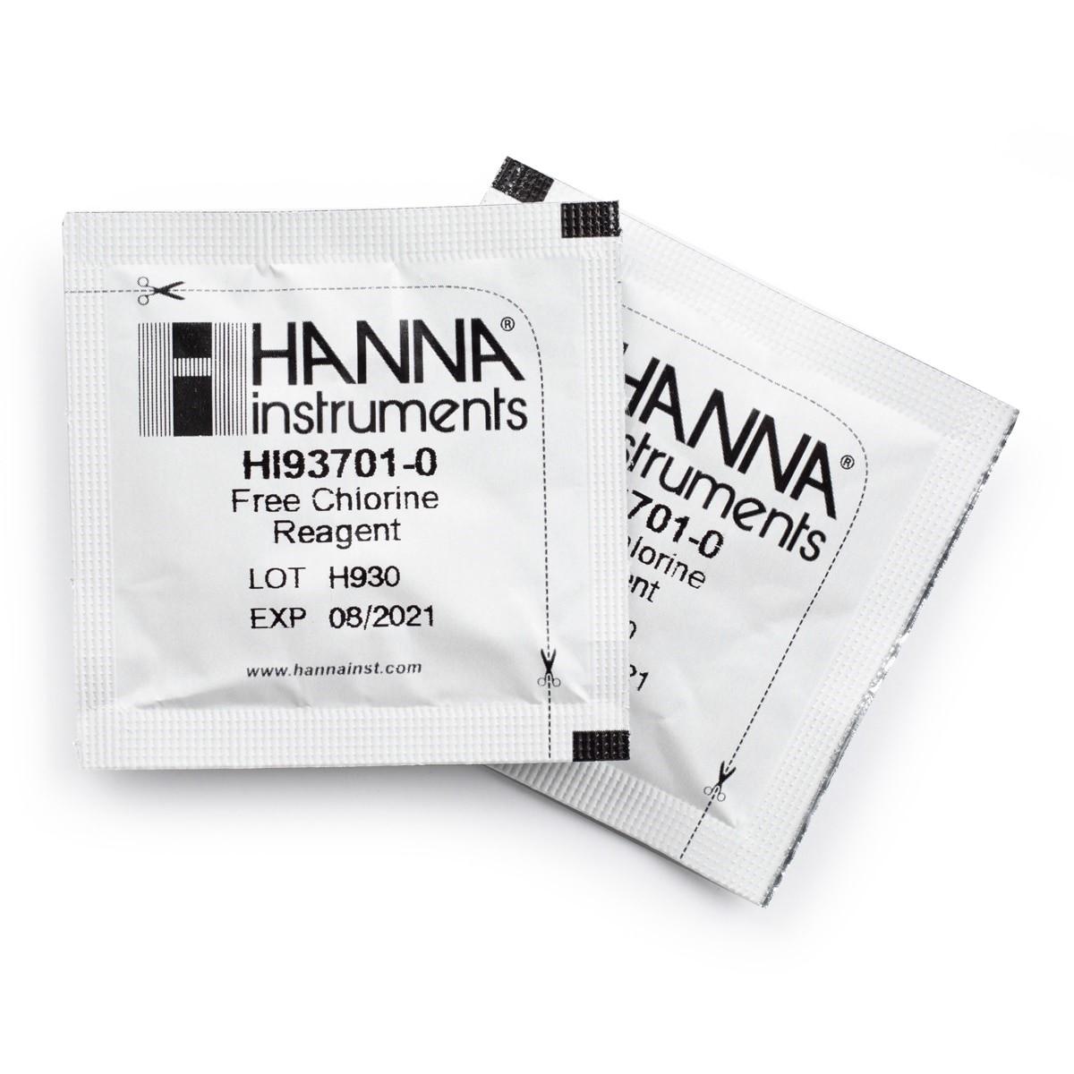 HI93701-01 Reactivos de Cloro Libre (100 pruebas)