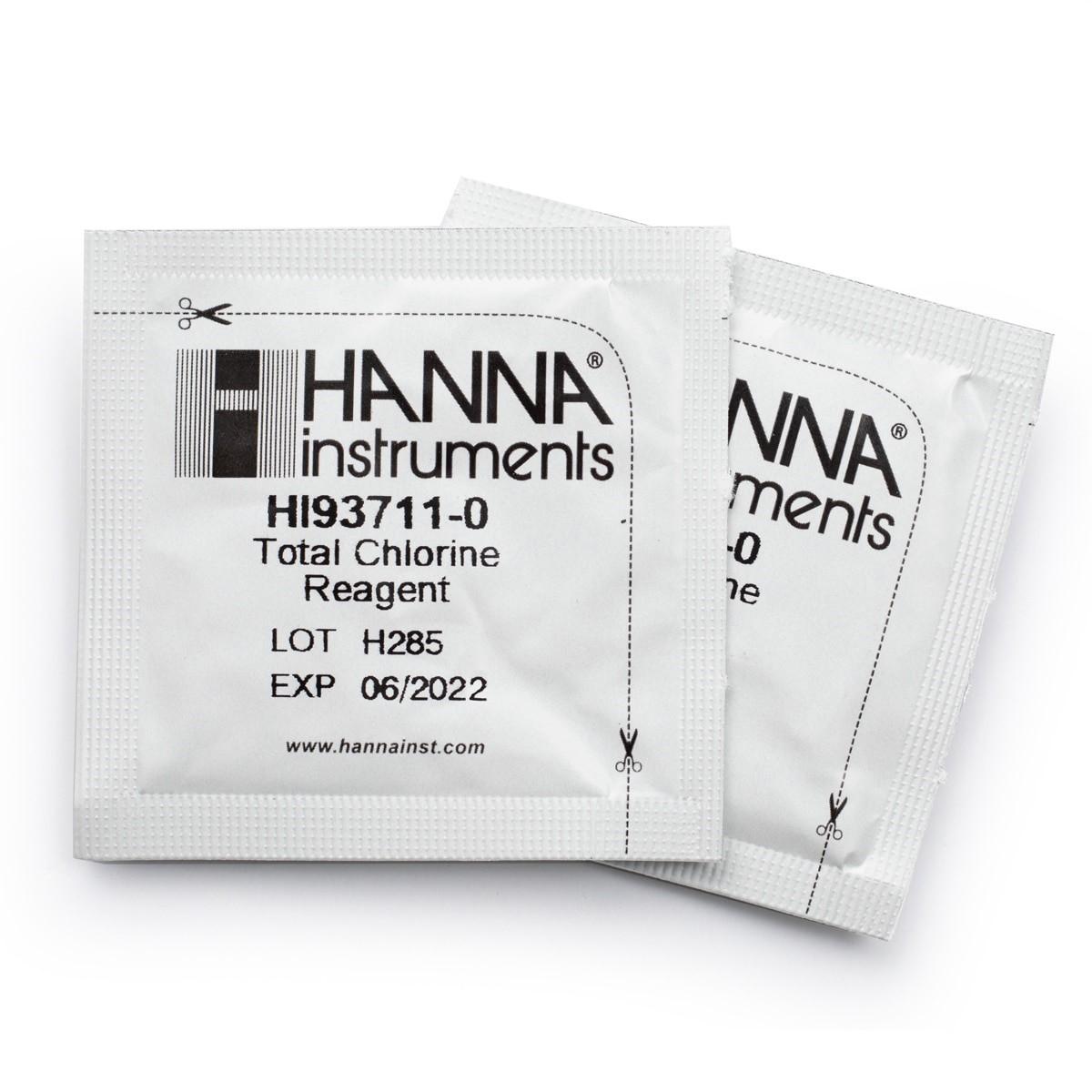 HI93711-01 - Reactivos de cloro total (100 pruebas)
