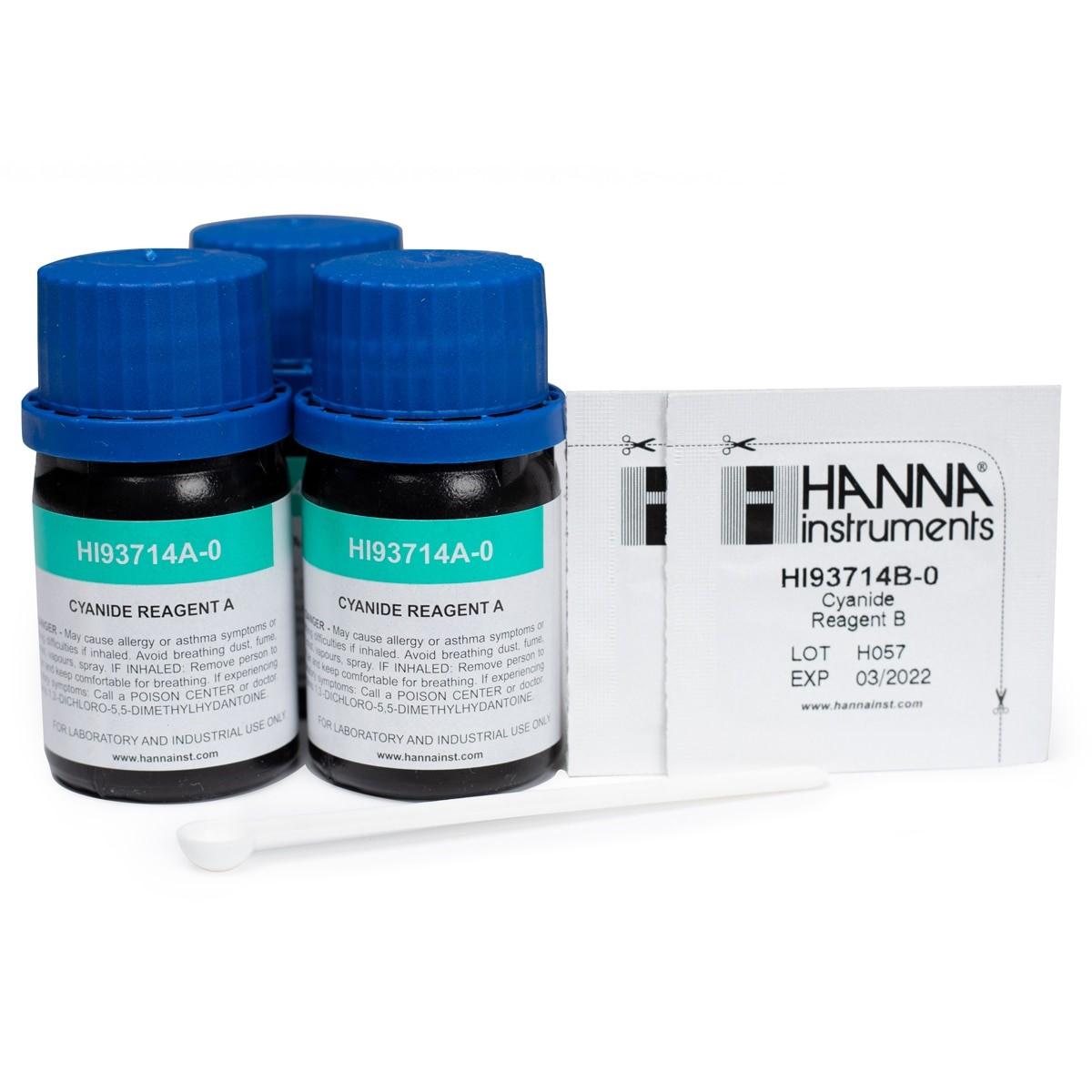 Reactivos para Cianuro (100 Pruebas) - HI93714-01