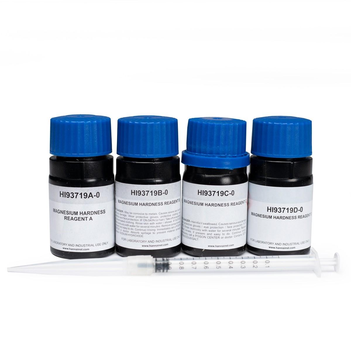 Reactivos de Magnesio y Dureza Total (100 pruebas) - HI93719-01