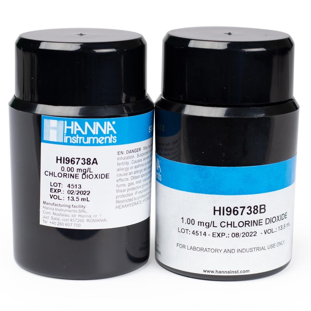 Estándares CAL Check™ para Dioxido de Cloro - HI96738-11