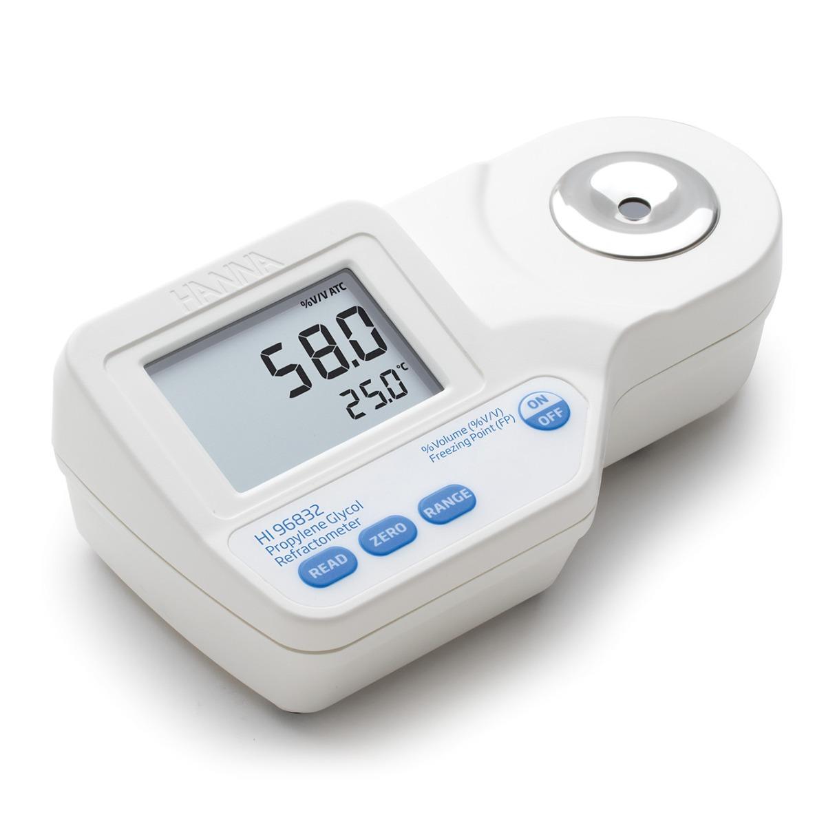 Refractómetro Digital para Análisis de Propilenglicol - HI96832