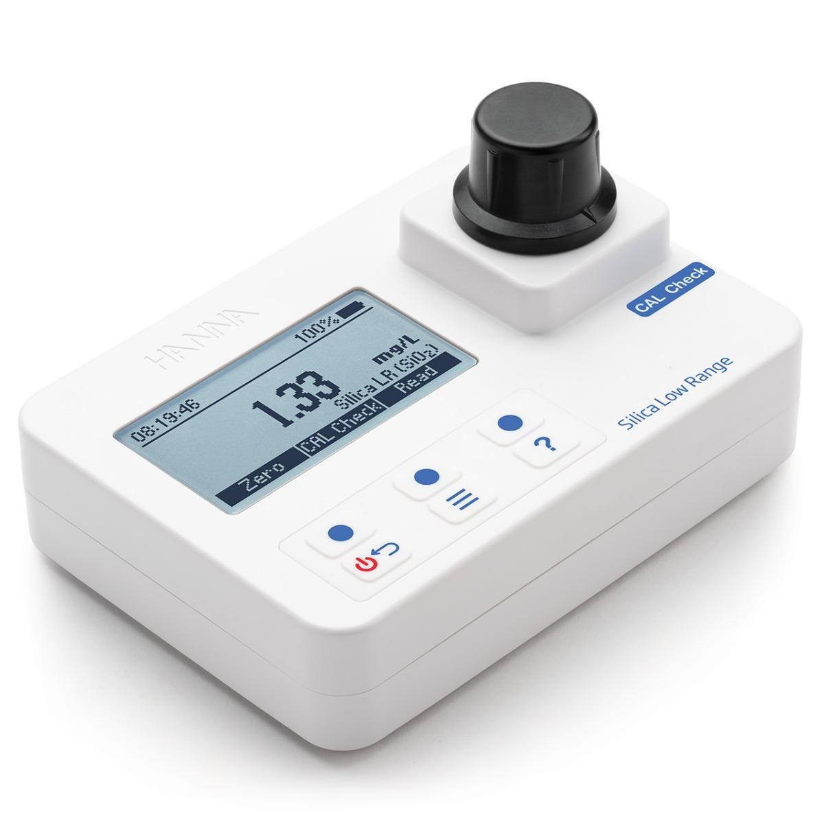HI97705 Silica Low-Range Portable Photometer with CAL Check