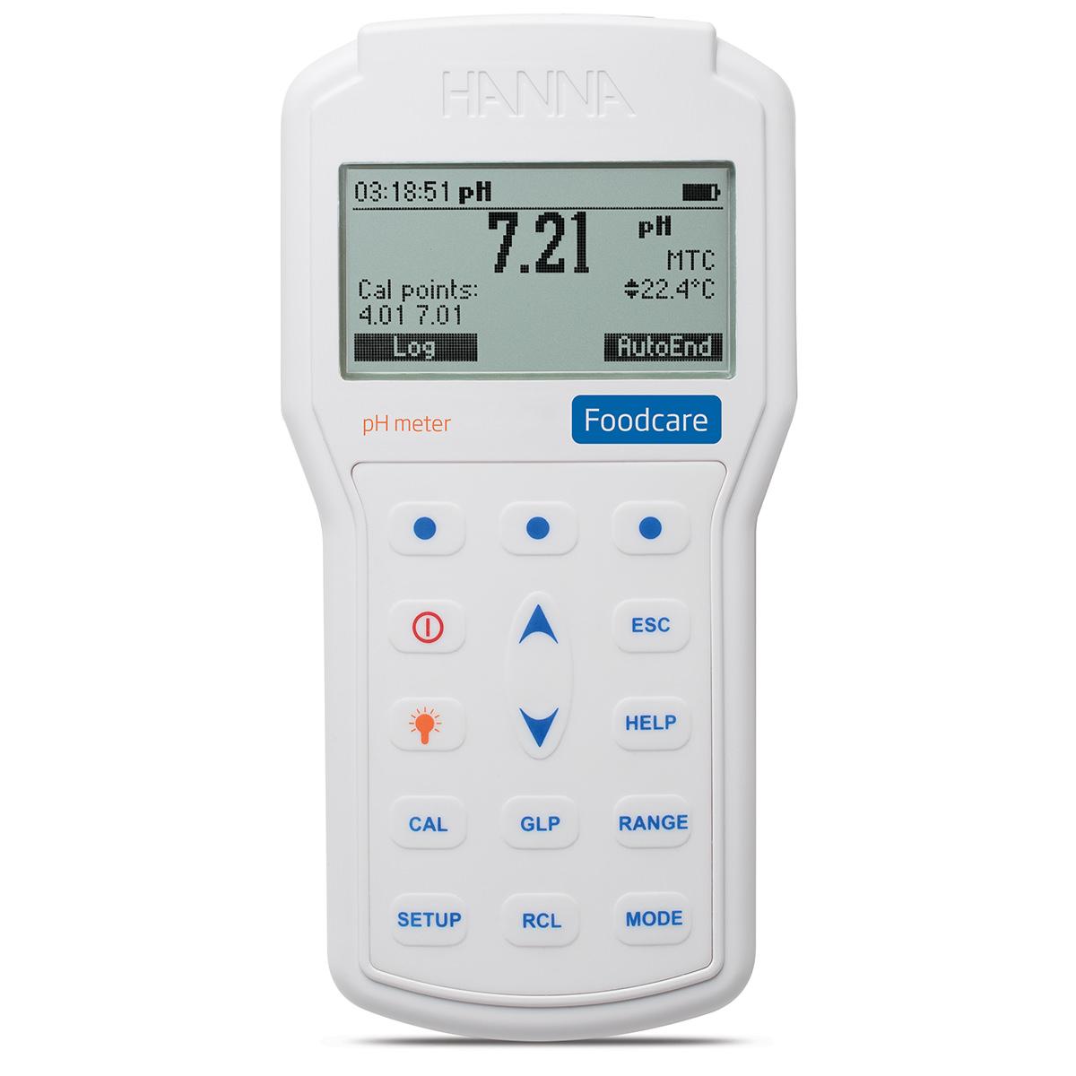 Medidor de pH Profesional Portátil Foodcare - HI98161